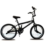 """Olpran BMX, čierny, freestyle 20"""" - Detský bicykel 20"""""""