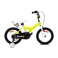 "OLPRAN Tommy 16"", žltá/biela - Detský bicykel"