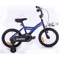 "OLPRAN Tommy 16"", svetlomodrá/biela - Detský bicykel 16"""