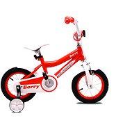 """OLPRAN Berry 12"""", oranžová/biela - Detský bicykel 12"""""""
