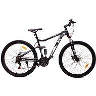 "OLPRAN Monster MTB 29"" ALU čierna/modrá - Horský bicykel 29"""