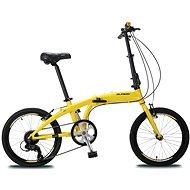 """Olpran folding 20"""" yellow - Skladací bicykel"""