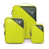 Osprey Ultralight Packing Cube Set, electric lime, S/M/L - Sada