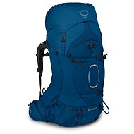 Osprey Aether 65 II Deep Water Blue L/XL - Tourist Backpack