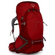 Osprey Atmos AG 65 II LG rigby red 68l - Turistický batoh