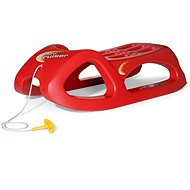 Rolly Toys Snow Cruiser Red - Sledge
