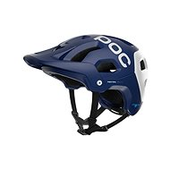 POC Tectal Race SPIN Lead Blue/Hydrogen White Matt - Prilba na bicykel