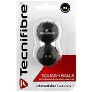 Tecnifibre dvojbodová žltá - Squashová lopta