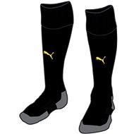 PUMA Team LIGA Socks CORE čierne/žlté (1 pár) - Ponožky