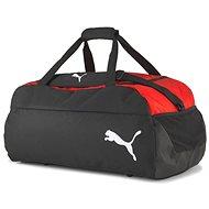 Puma teamFINAL 21 Teambag M, červeno-čierna