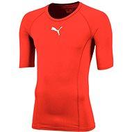 Puma LIGA Baselayer Tee SS červená, veľ. XL - Tričko