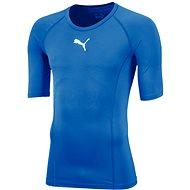 Puma LIGA Baselayer Tee SS modrá, veľ. XL - Tričko