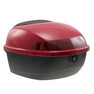 Zadní kufr k elektrickému motocyklu RACCEWAY EXTREME, červený-lesklý - Kufor