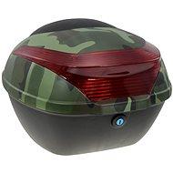 Zadný kufor k elektrickému motocyklu RACCEWAY E-BABETA, maskáč zelený - Kufor