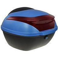 Zadný kufor k elektrickému motocyklu RACCEWAY E-BABETA, modrý - Kufor