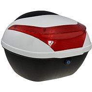Zadný kufor k elektrickému motocyklu RACCEWAY E-BABETA, biely - Kufor