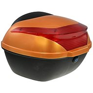 Zadný kufor k elektrickému motocyklu RACCEWAY E-BABETA, oranžový - Kufor