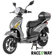 Racceray E-Moped, 12 Ah, sivý-lesklý - Elektrický skúter