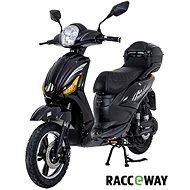 Racceray E-Moped, 12 Ah, čierny-lesklý - Elektrický skúter