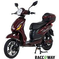 Racceray E-Moped, 12 Ah, vínový-lesklý - Elektrický skúter