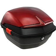 Rear case for electric motorcycle Racceway CITY 21, red - Suitcase