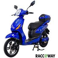 Racceway E-Moped 12AH modrý-lesklý - Elektrický skúter