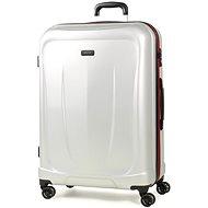 Cestovný kufor ROCK TR-0165/3-L ABS – strieborný - Cestovný kufor s TSA zámkom