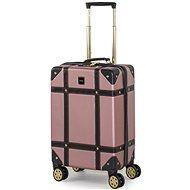 ROCK Vintage TR-0193/3-S, ružový - Cestovný kufor s TSA zámkom