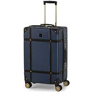 ROCK Vintage TR-0193/3-M, modrý - Cestovný kufor s TSA zámkom