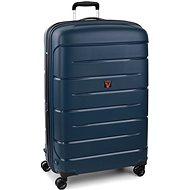 Roncato Flight DLX 79 EXP modrý - Cestovný kufor s TSA zámkom