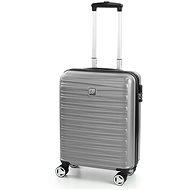 Modo by Roncato Houston 55 strieborný - Cestovný kufor s TSA zámkom