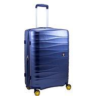 Roncato Stellar 76 cm modrý - Cestovný kufor s TSA zámkom