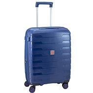 Roncato cestovný kufor SPIRIT, 55 cm, EXP., 4 kolieska, modrý - Cestovný kufor s TSA zámkom