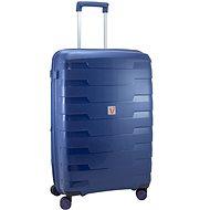 Roncato cestovný kufor SPIRIT, 79 cm, EXP., 4 kolieska, modrý - Cestovný kufor s TSA zámkom