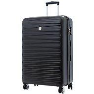 Modo by Roncato Houston 77 cm, 4 kolieska, čierny - Cestovný kufor s TSA zámkom