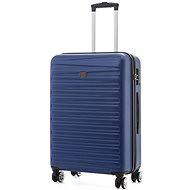 Modo by Roncato Houston 67 cm, 4 kolieska, modrý - Cestovný kufor s TSA zámkom