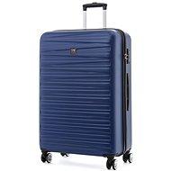 Modo by Roncato Houston 77 cm, 4 kolieska, modrý - Cestovný kufor s TSA zámkom