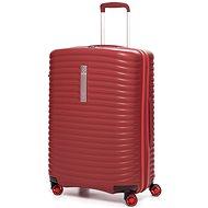 Modo by Roncato Vega 68 cm, 4 kolieska, EXP., červený - Cestovný kufor s TSA zámkom