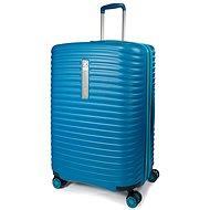 Modo by Roncato Vega 78 cm, 4 kolieska, EXP., modrý - Cestovný kufor s TSA zámkom