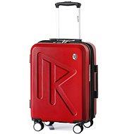 Raido Numero Uno Red Mood Line S - Cestovný kufor s TSA zámkom