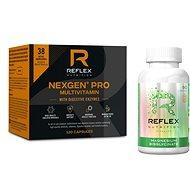 Reflex Nexgen PRO + Digestive Enzymes 120 kapslí + Albion Magnesium, 90 kapslí