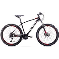 "ROMET RAMBLER 27,5 3 Black-Red veľkosť L/20"" - Horský bicykel 27,5"""