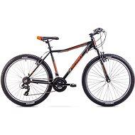 "ROMET RAMBLER 26 JR Black – Orange veľ. L/19"" - Detský bicykel 26"""