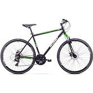 """ROMET ORKAN 1 M Black-Light Green veľ. M/19"""" - Crossový bicykel"""