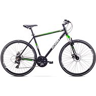 "ROMET ORKAN 1 M Black-Light Green veľ. L/21"" - Crossový bicykel"