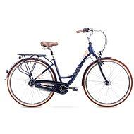 "ROMET ART. DECO 7 Dark Blue veľ. M/17"" - Dámsky mestský bicykel"
