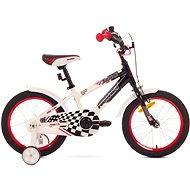"ROMET SALTO P 16 black - Detský bicykel 16"""