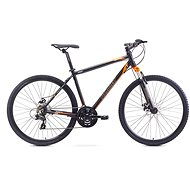 "ROMET ORKAN 1 M Black – Orange veľ. L/21"" - Crossový bicykel"