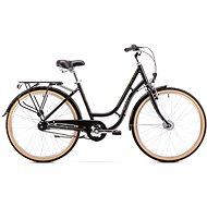 ROMET TURING 7S black - Dámsky mestský bicykel