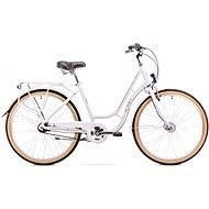 ROMET TURING 7S white - Dámsky mestský bicykel